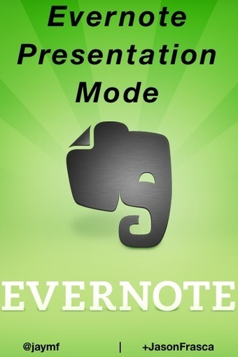 Why I Will Not Use PowerPoint or Keynote Again – I'm Using Evernote Presentation Mode Instead | Jason Frasca | Ipad@Evernote | Scoop.it
