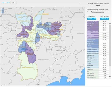 Site Observatório Sampa permite acesso aos indicadores da Prefeitura de São Paulo | Cartography and Technology | Scoop.it