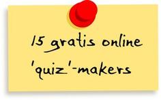 Edu-Curator: Met deze 15 'quiz'-makers maak je leuke quizzen voor jouw groep | Edu-Curator | Scoop.it