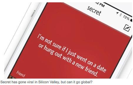 Anonymous gossip app Secret raises $8.6m in funding round | APG4396 - Research & Writing Unit | Scoop.it