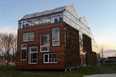 Concept House : une maison-serre au cœur de Rotterdam | La richesse du partage pour une vie plus responsable | Scoop.it