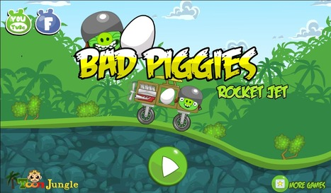 Bad Piggies Rocket Jet | cartoon mini | Scoop.it