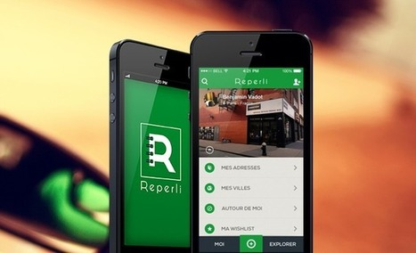 [Bon App'] Reperli, l'application pour mémoriser les adresses de vos ... - Frenchweb.fr | digital | Scoop.it