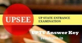 UPTU Answer Key 2014 UPSEE Exam Answer Key uptu.ac.in   Education   Scoop.it