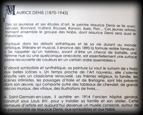 Vitrail de Maurice Denis, la présentation au Temple à Florence | miseauverre.com | Scoop.it
