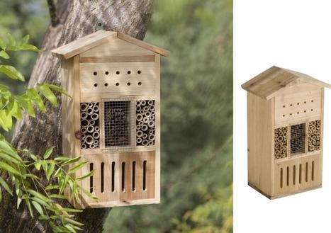Top 10 des hôtels à insectes : vive la biodiversité au jardin ! | Design de permaculture | Scoop.it