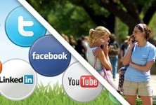 Is Social Media the New College Campus? | English 2.0 | Scoop.it