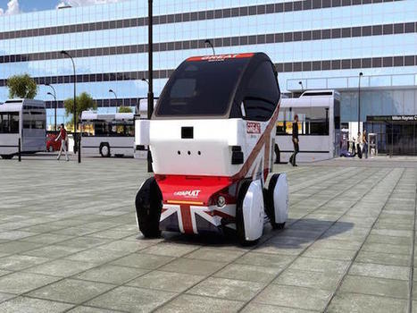 Meet the driverless cars coming to cities across the UK: Photos | ZDNet | Urban Choreography | Scoop.it