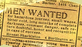 Help Wanted! Journey of a Lifetime! Hazardous Conditions! Safe Return Doubtful! Hard Work Guaranteed! Dark Days & Long Nights! Join the #EdCampSantiago 2013Expedition! | Unconference EdcampSantiago | Scoop.it