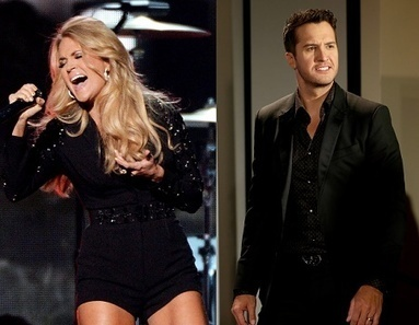 Carrie Underwood Beats Luke Bryan, Tim McGraw as Most Popular | Country Music Today | Scoop.it