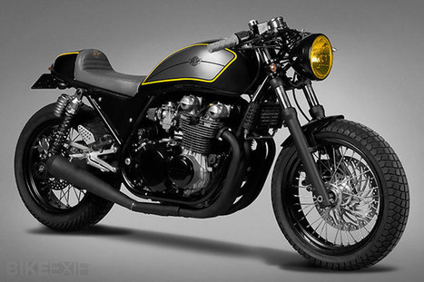 Kawasaki Zephyr by Ton-Up Garage | Cafe Racers | Scoop.it