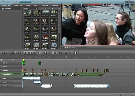 WeVideo - Free Online Video Editor & Maker   Web-Ed Tools   Scoop.it
