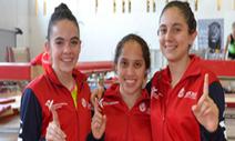 Equipo femenil de gimnasia da Oro en Trampolín en la Olimpiada Nacional. | Revista Magnesia | Scoop.it