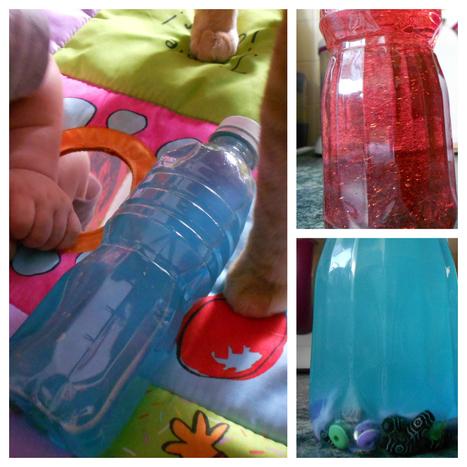 Eveil de bébé : comment fabriquer des bouteilles sensorielles | Education à l'enfance - idées | Scoop.it