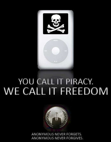 Privacy vs Freedom. Anonymous's flyer   Anonymous: Freedom seeker? or Hacker?   Scoop.it