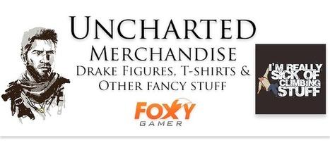 Uncharted Merchandise – Drake Figures, T-shirts & Other fancy stuff | Gaming merchandise | Scoop.it