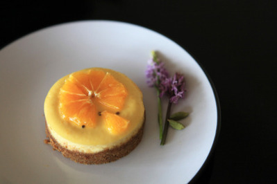 #RECIPE - Orange Cheesecake with Cardamom | The Man With The Golden Tongs Hands Are In The Oven | Scoop.it