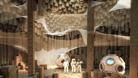 Architects envision an underground colony on Mars | Nowadays | Scoop.it