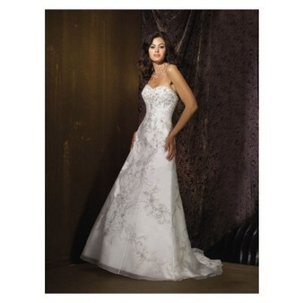Crystal Organza Sweetheart A-line Wedding Dress with Appliqued Cheap for Sale | Wedding Dress 2013 for cheap collection | Scoop.it