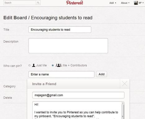 Pinterest e ideas para usarlo en el aula | Internet 2013 | Scoop.it