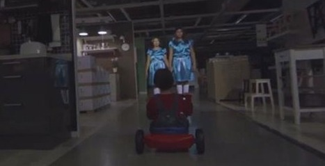 "#StuffWeLike awesome IKEA ""open late for Halloween ad | Flynn Design | Scoop.it"