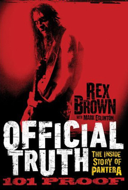 """XXXTreme Music News!! """"Rex Brown Goes In-Depth About His New Book and the Legacy of Pantera"""" 
