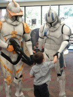 'Star Wars' Characters Bring Reading Event to Clinton-Macomb Public Library - Patch.com   Professional development of Librarians   Scoop.it