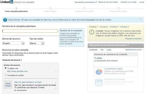 Anuncios en LinkedIn en 4 pasos | Personas 2.0: #SocialMedia #Strategist | Scoop.it