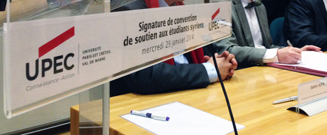 L'Université Paris-Est Créteil accueille des étudiants syriens | Association Démocratie et Entraide en Syrie | Scoop.it