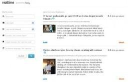 Realtime. Moteur de recherche des articles les plus partages. | Les outils de la veille | veillepédagogique | Scoop.it