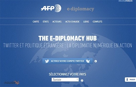 The e-diplomacy Hub, A real-time window onto digital diplomacy in action | Cabinet de curiosités numériques | Scoop.it