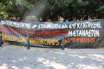 Chronique de la révolte des immigrés dans le camp d'Amygdaleza, en Grèce | Le Monolecte | Scoop.it