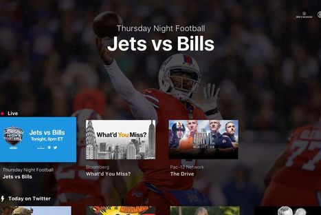 Twitter app brings free NFL games to Apple TV, Amazon Fire TV, and the Xbox One - TheVerge | mvpx_CTV | Scoop.it