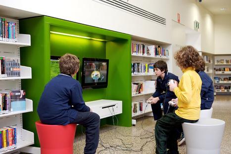 Des jeux vidéo à la bibliothèque / Cécile MENEGHIN   Jeux vidéos et bibliothèques   Scoop.it