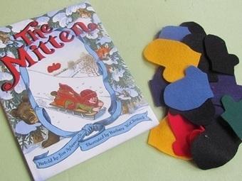 Felt board mitten math in preschool   Teach Preschool   Scoop.it
