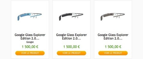 Envie de vous offrir des Google Glass, RV sur le site de PriceMinister | Actu webmarketing et marketing mobile | Scoop.it