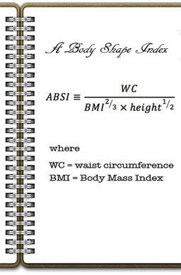 Obesity indicator - Body shape Index | Women Health | Scoop.it