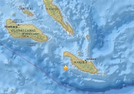 Retirada la alerta por tsunami para el Pacífico tras el terremoto en las Islas Salomón | CTMA | Scoop.it