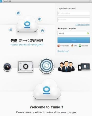 1 tera de stockage gratuit Yunio 3.0.7 Licence gratuite - Actualités du Gratuit   Geeks   Scoop.it