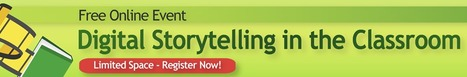 Free, Digital Storytelling online conference, Sat. Oct. 19 ~ SimpleK-12 | Scriveners' Trappings | Scoop.it
