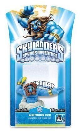 Skylanders Spyro's Adventure Character Pack - Lightning Rod | Nintendo 3ds Wii U Game United kingdom | Scoop.it
