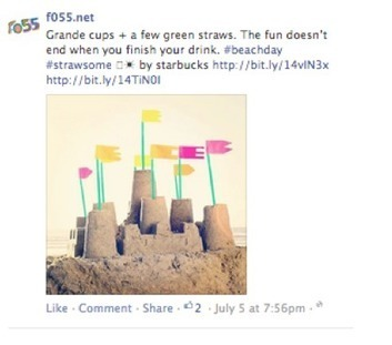 How Big Brands Use Hashtags on Facebook, and How You Can, Too | MarketingHits | Scoop.it