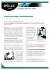 8 Considerations When Choosing a Centrifuge - Labmate Online | laboratory automation | Scoop.it