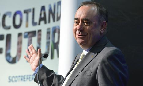Salmond: independent Scotland could be £5bn a year better off in 15 years | Referendum 2014 | Scoop.it