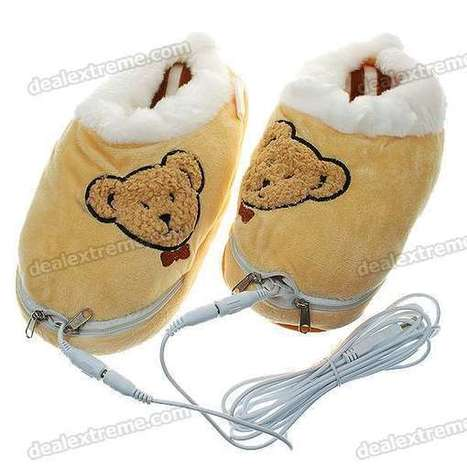 USB Powered Feet Warmer Cushion for Cold Winters - Creamy Yellow (Pair / Cable Removable) - Free Shipping - DealExtreme | productos | Scoop.it