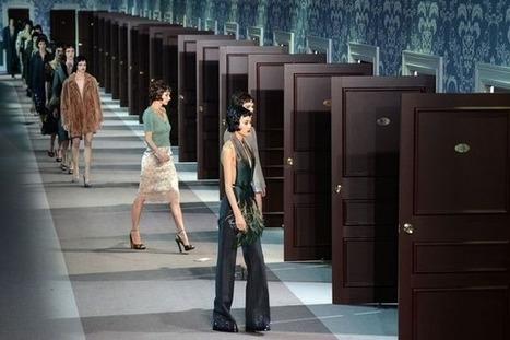 Semaine de la mode: look rétro et glamour décadent chez Louis ... - L'Express | Fashion & Web | Scoop.it