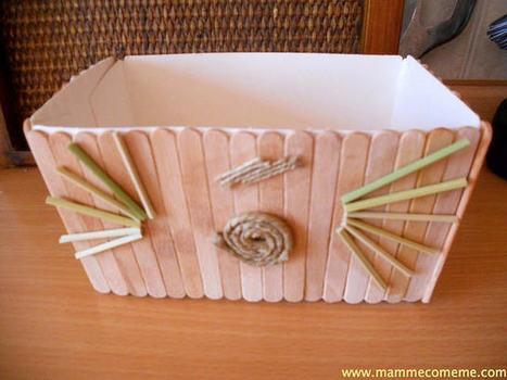 Mamme come me: La scatola ecologica | Lavoretti | Scoop.it