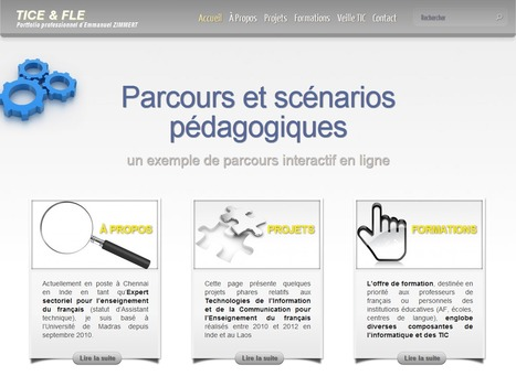 TICE & FLE - Mon portfolio professionnel | L'Atelier de la Culture | Scoop.it