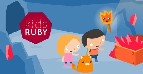 KidsRuby 1.0 Released  [Computer Programming for Kids] | Transmedia 4 Kids: Creating Content For Children | Scoop.it