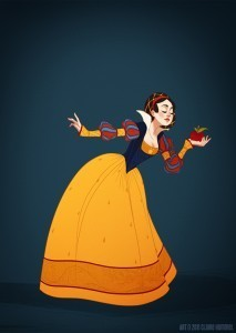 Disney Princesses In Accurate Period Costume | Cool miscellaneous sites | Scoop.it